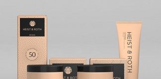 Heist & Roth - high-end skin care and beauty products - branding and packaging by Robinsson Cravents.