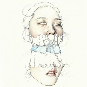 Haejung Lee - Surreal Mixed Media Portraiture