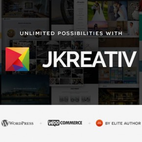 Jkreativ - Multi-Layer Parallax WordPress Theme
