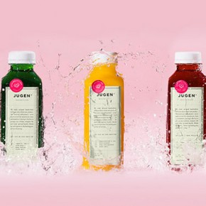 Jugen - Healthy Foods Branding by Anagrama