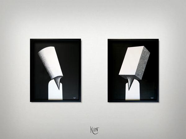Les Jumeaux: Fate & Fatum - Framed fine art prints