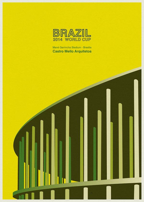 Mané Garrincha Stadium in Brasilia by Castro Mello Arquitetos - Brazil 2014 World Cup Stadiums