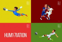 Outstanding Moments of The FIFA World Cup - Brazil 2014 - Illustrations by Dipanjan Biswas
