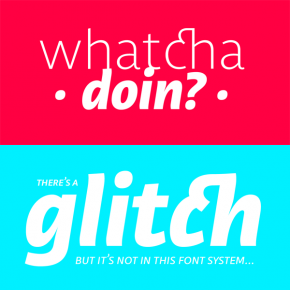 Libertad Font Family from TipoType