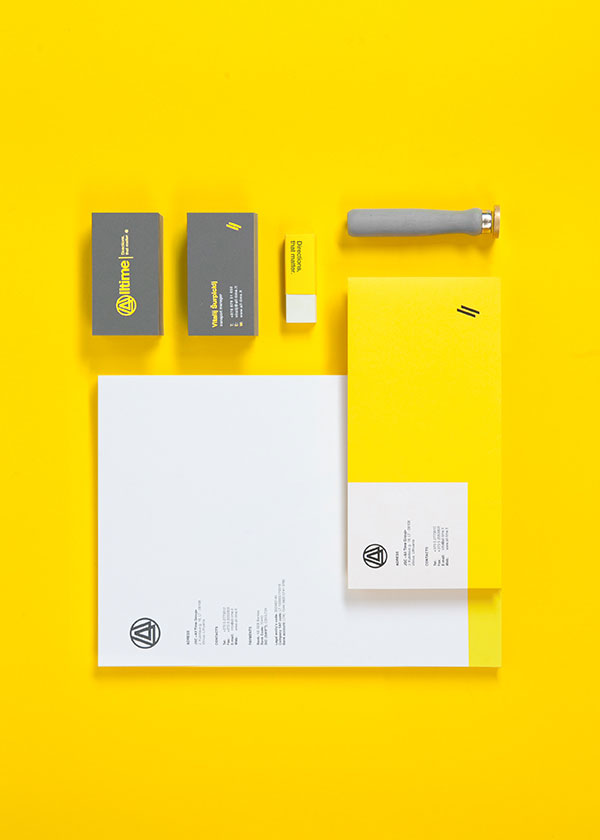 Alltime - logistics company rebranding project by Anastasia Yakovleva of All Design Transparent.