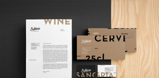 Baldoria – Garrafeira and Bar - Branding and art direction by Another Collective.