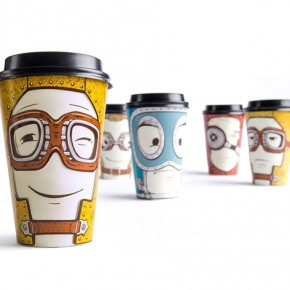 Gawatt Souvenir Cups With Altering Emotions