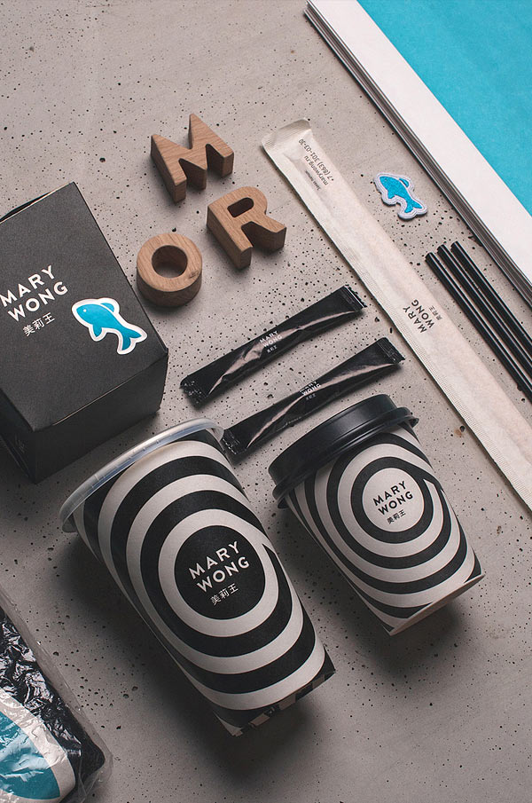Mary Wong brand design by Moscow based design studio Fork.