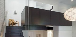 Micro-Loft in Manhattan, New York City by Specht Harpman.