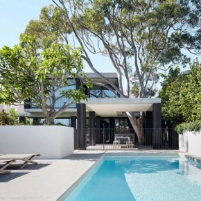 The Hopetoun Avenue House by B.E Architecture