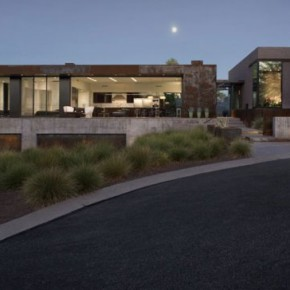 Modern Residence in Phoenix, Arizona by Chen + Suchart Studio