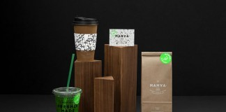 Mamva - health-food restaurant brand and package design by Anagrama.