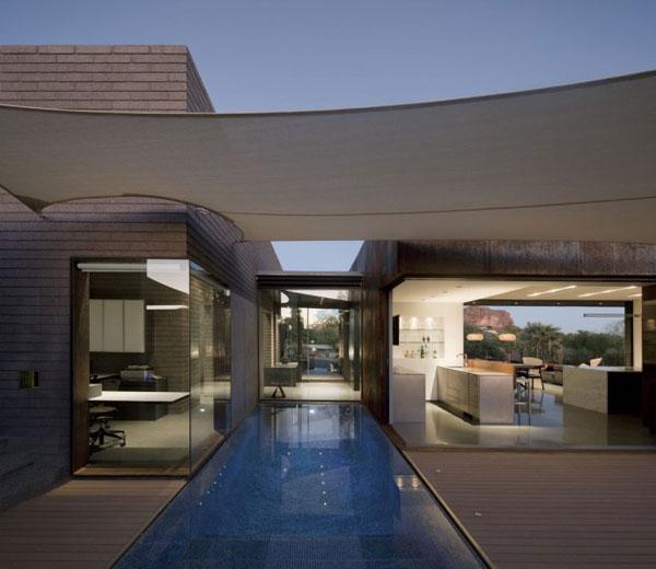 Modern Residence in Phoenix, Arizona by Chen + Suchart Studio
