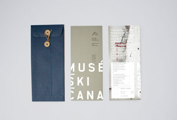Visual identity concept - student work by Eliane Cadieux.