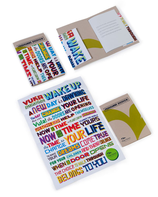 Print design and letter illustrations of motivational quotes.