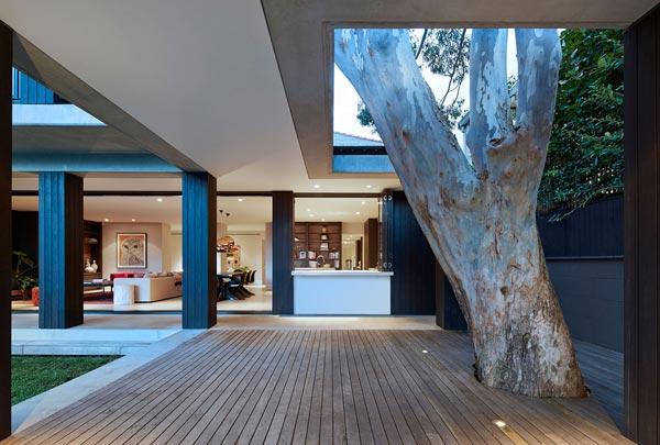 The Hopetoun Avenue House by B.E Architecture