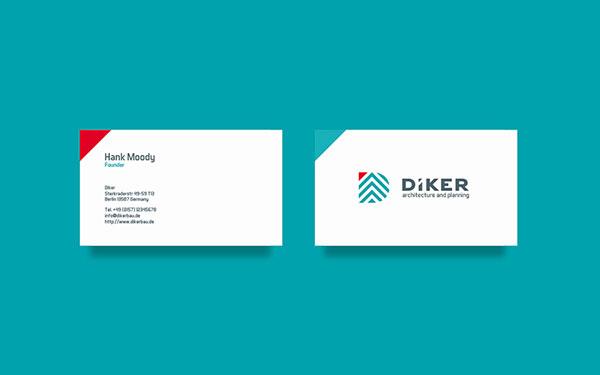 Diker Bau – Branding by agency Pixelinme
