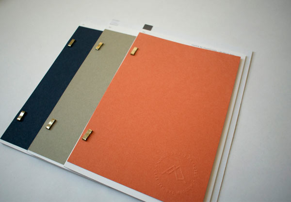 Printed collateral by Eliane Cadieux.