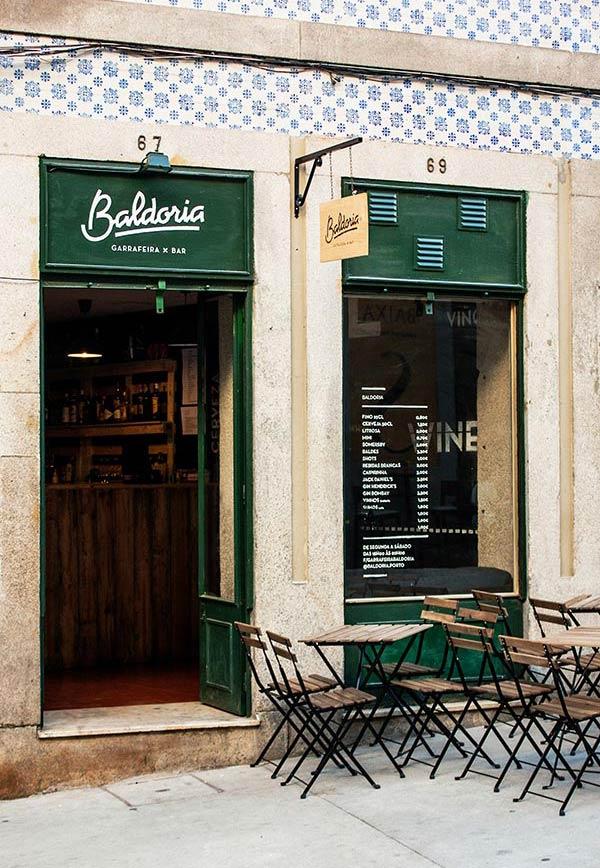 Baldoria – Wine Cellar and Bar in Porto, Portugal