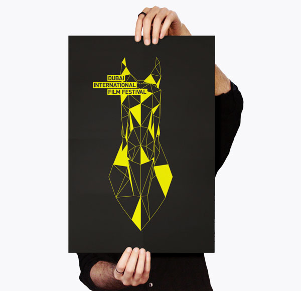 Dubai Film Festival poster design concept.