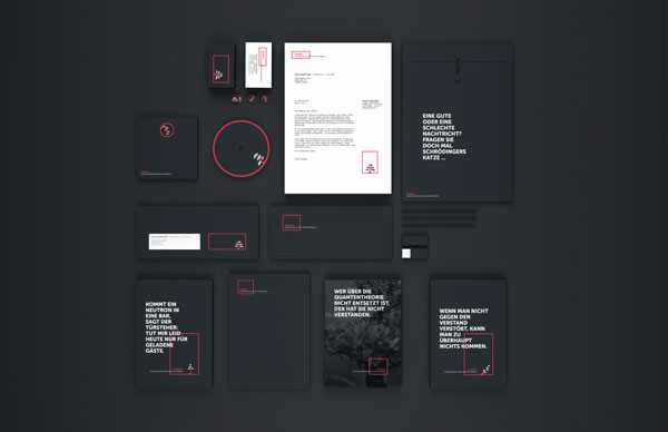 A flexible brand appearance for research group Ponsai - Concept and design by Philipp Doms.