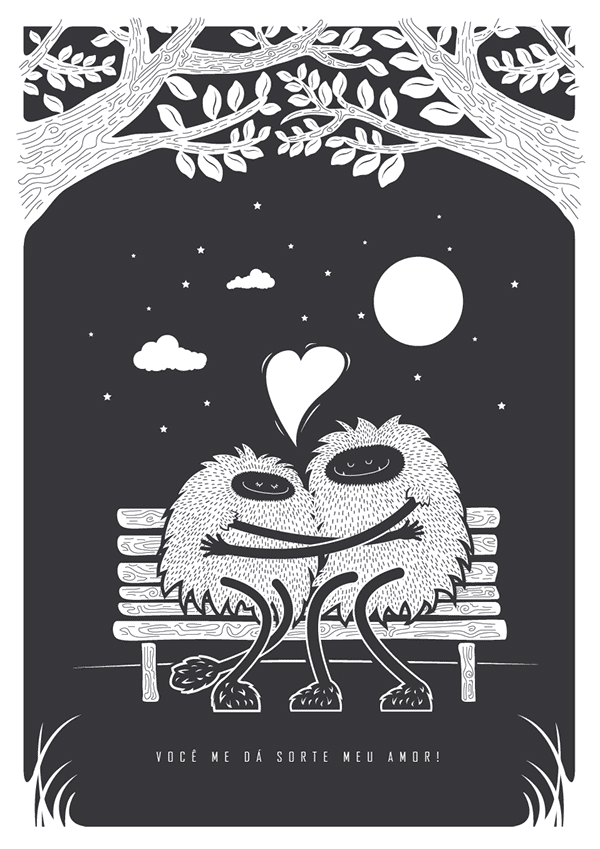 Poster Illustrations by Marcos Bernardes