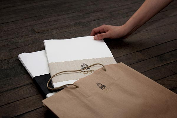 Brand materials for a traditional Hungarian, handcraft  paper mill.