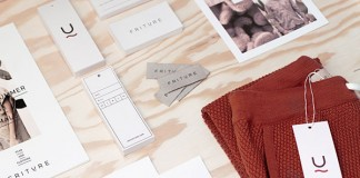 Friture - Danish fashion brand identity by Your Local Studio.