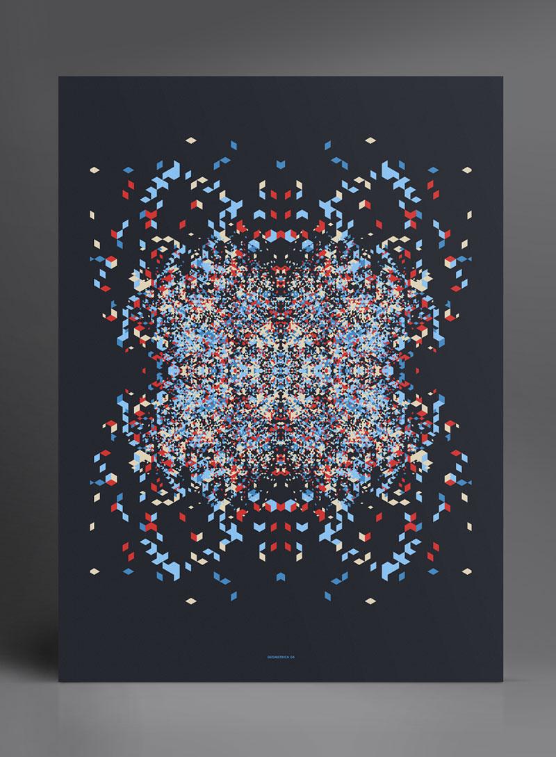 Geometrica Prints by Marius Roosendaal