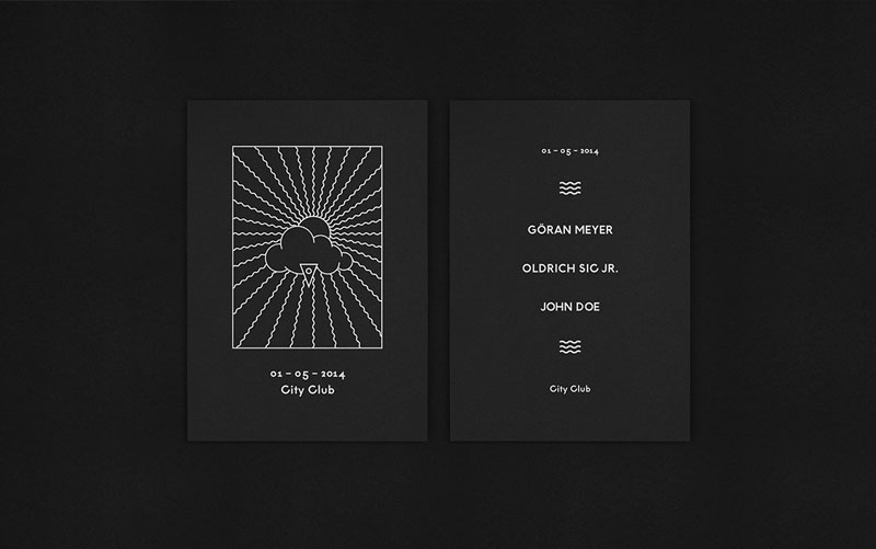 Visual Identity for DJ Oldrich Sic Jr.