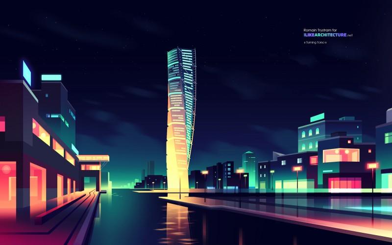 I Like Architecture – Architectural Illustrations