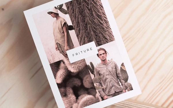 Imaging of Danish fashion label Friture.