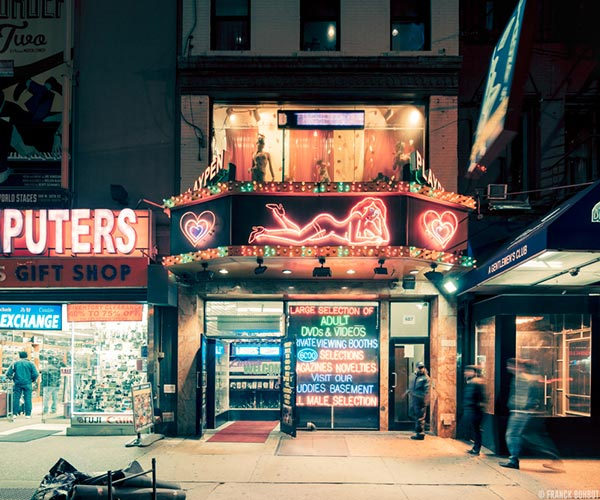 Light On - Photo series by Franck Bohbot, a New York City based photographer.