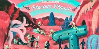 Pleasure Planet - acrylic illustration on board.