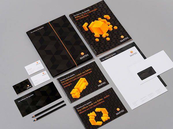 Printed collateral created by EIGA Design.