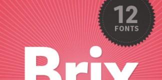 The Brix Sans font family, a sans serif typeface from HVD Fonts.