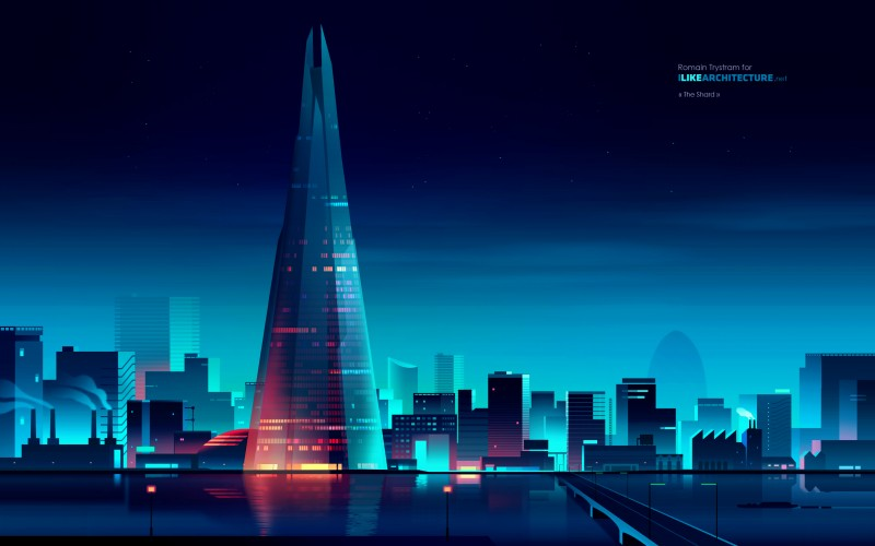 The Shard, also referred to as the Shard of Glass is a 87-storey skyscraper in London.