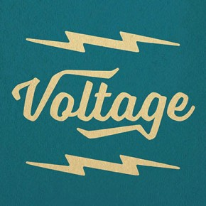 Voltage - Retro Script Typeface by Laura Worthington