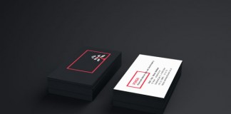 Well designed business Cards of research group Ponsai.