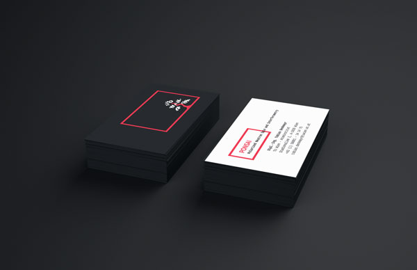 Ponsai research group brand identity well designed business cards of research group ponsai colourmoves