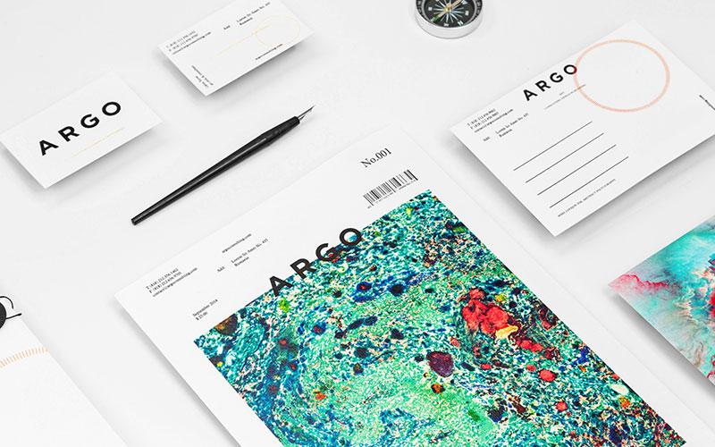 Argo consultants agency - brand identity design by Anagrama.