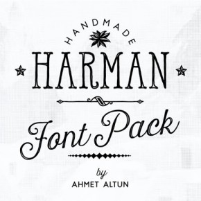 Harman - Handmade Fonts by Type Designer Ahmet Altun