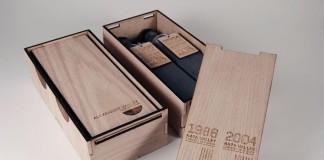 Limited edition concept wine sampler for Silver Oak Cellars.