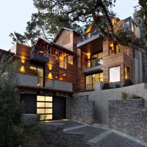 House in Mill Valley, California by SB Architects