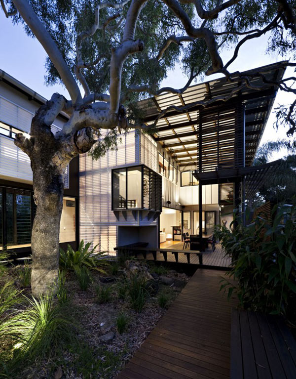 Australian Beach House On The Sunshine Coast Of Queensland
