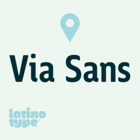 Via Sans Font Family by Latinotype