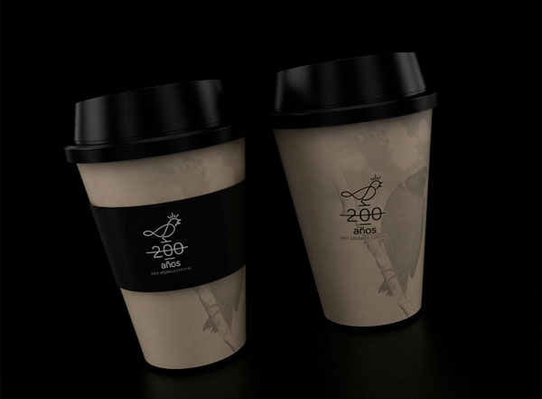 Coffee 200 Years – Branding by David Espinosa IDS