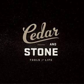 Cedar & Stone Brand Identity by Ashley Flanagan