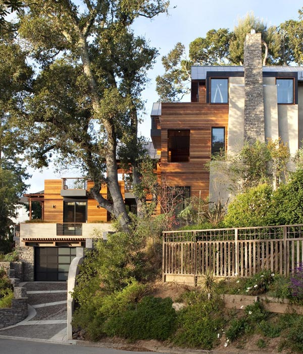 house in mill valley california by sb architects