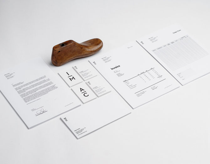 Stationery design by Mark Brooks for Magro Cardona, a Madrid based high end footwear brand.